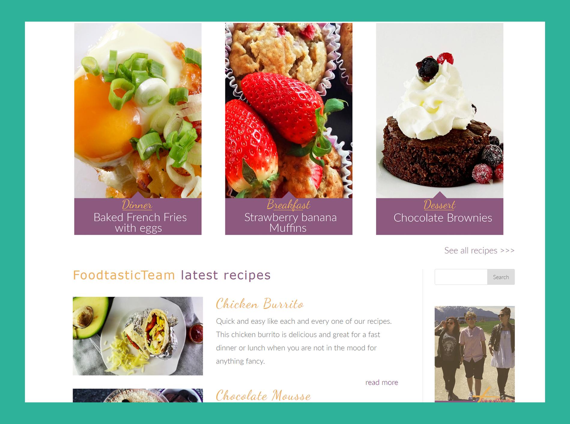 Foodtastic Team Portofoliu Creativ Webmedia