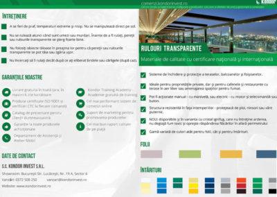 Creativwebmedia portofoliu brosura